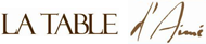 La Table d'Aimé Mobile Logo